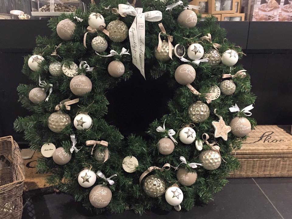 Kerstkrans RM | Riviera maison kerst | Pinterest ...