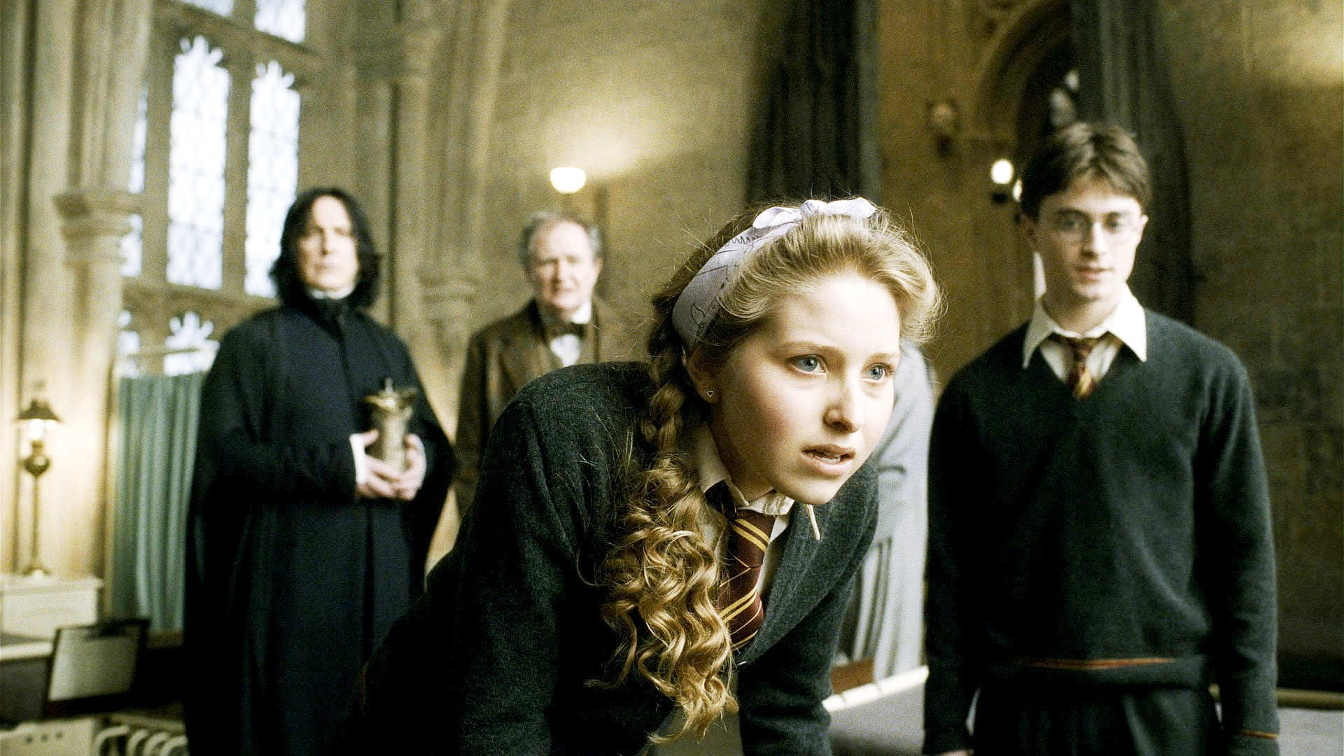 Lavender Brown As Portrayed By Jessie Cave Lavender Becomes Ron S First Girlfriend For Sev Lavender Brown Harry Potter Harry Potter Characters Lavender Brown