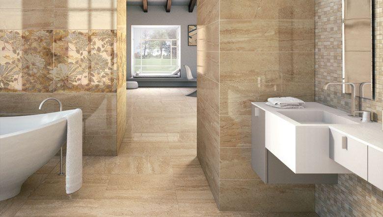 Un elegante y sofisticado dise o para el cuarto de ba o - Banos con piedra natural ...