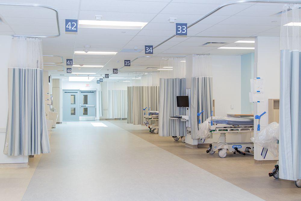 Modern Hospital Curtain Fabric See How The New Oakville Hospital
