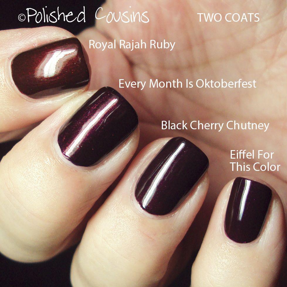 Image Result For Opi Black Cherry Chutney Black Cherry Nails Cherry Nails Cherry Nail Art