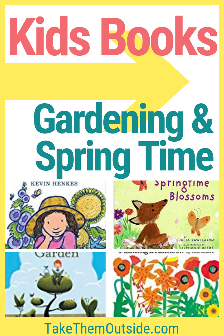 Nature Reading Kids Books About Spring And Gardening Nature