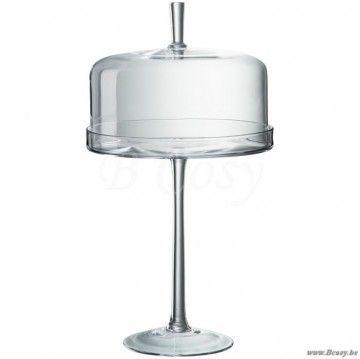 J Line Stolp Op Voet Glas Transparant 50 Span Style Font Size 0 01pt Jline By Jolipa 63421 Stolp Op Voet Stolp Op Voet Glas Cloch Tafelgerei Plateaus Glas