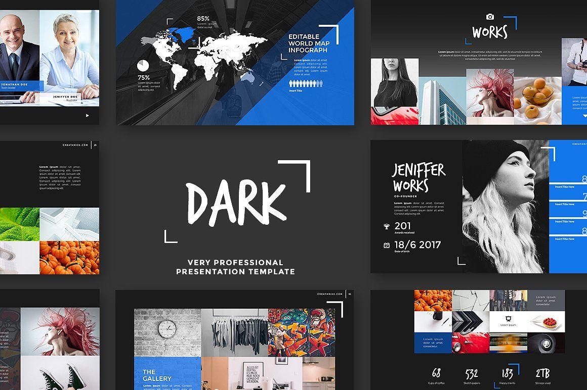 Dark Keynote  Presentations    Keynotes