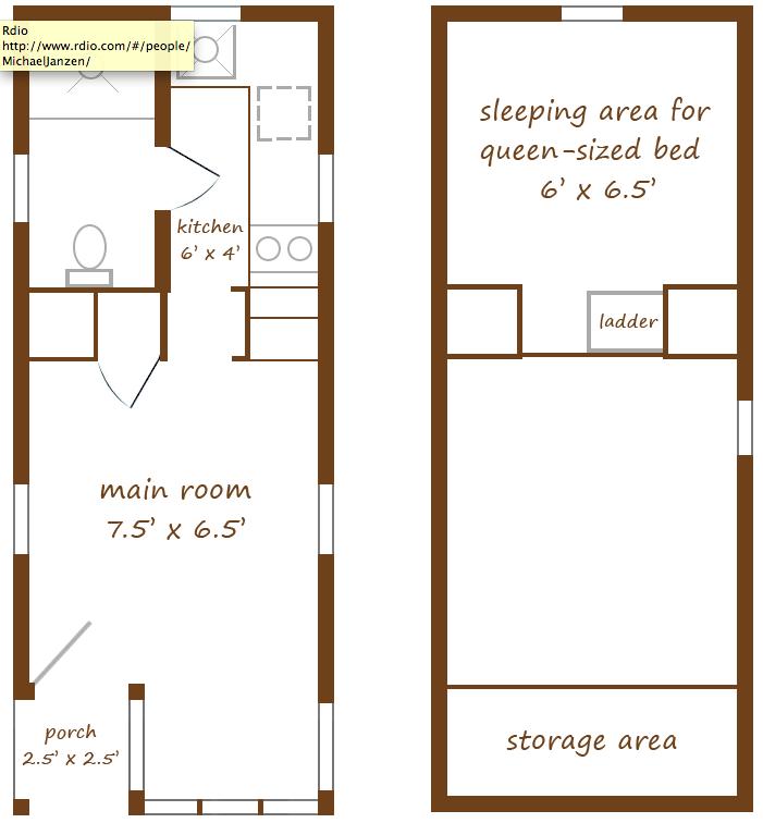 Tumbleweed Tiny House Floor Plans: Home Sweet TINY Home