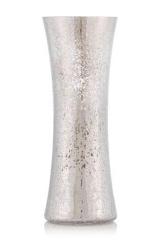 Silver Crackle Glass Vase Wedding 2 Pinterest Crackle Glass