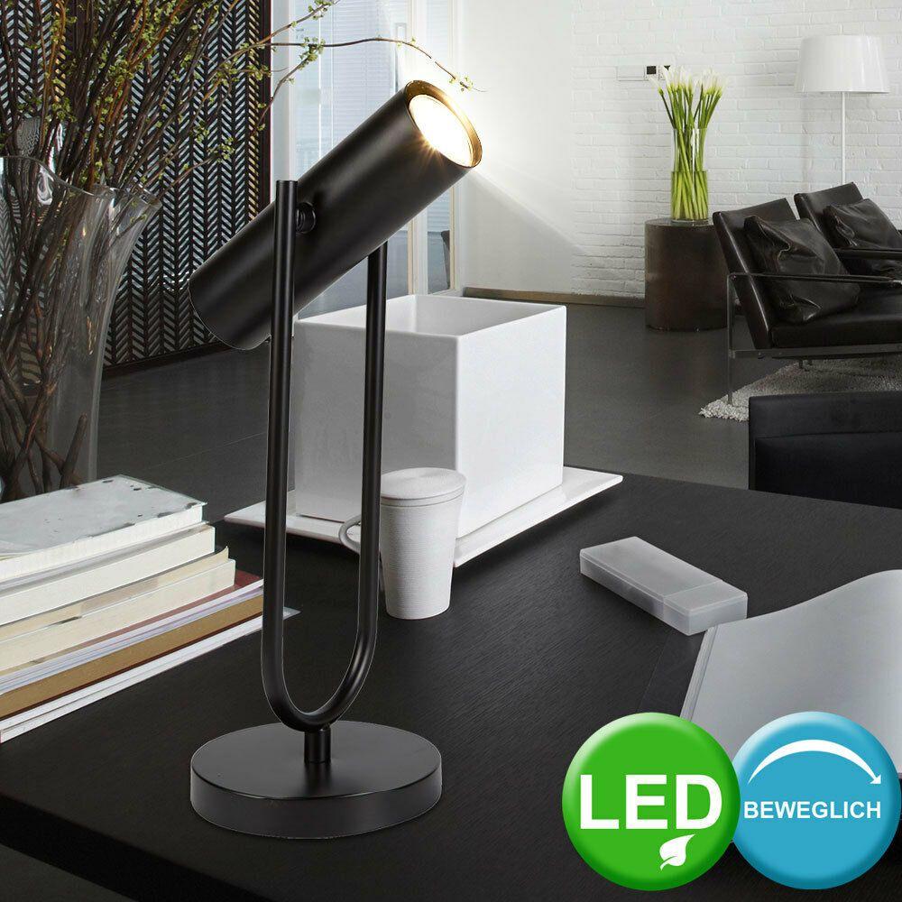 Design LED Arbeits Zimmer Tisch Beleuchtung Steh Lampe Spot Strahler beweglich