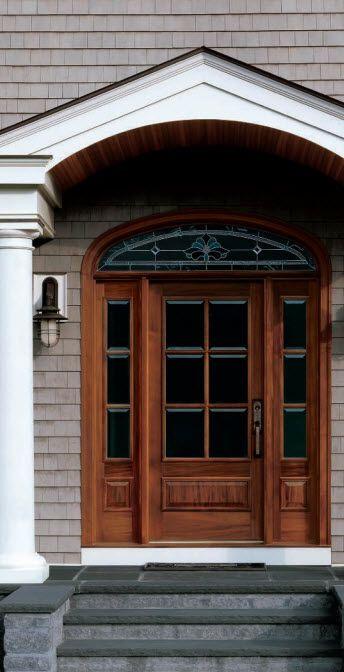 entrance door with sidelight STRAIGHTLINE (181) Andersen | Front ...
