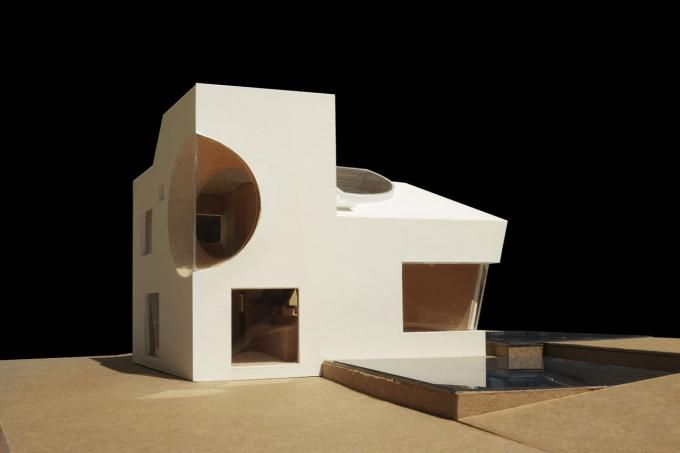 Model. The Ex of In House by Steven Holl Architects. Image courtesy of Steven Holl Architects. Click above to see larger image.
