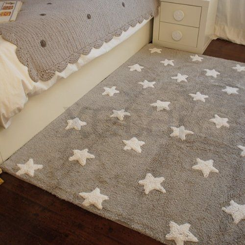 Lorena Canals Stars Machine Washable Kids Rug 4 X 5 Feet