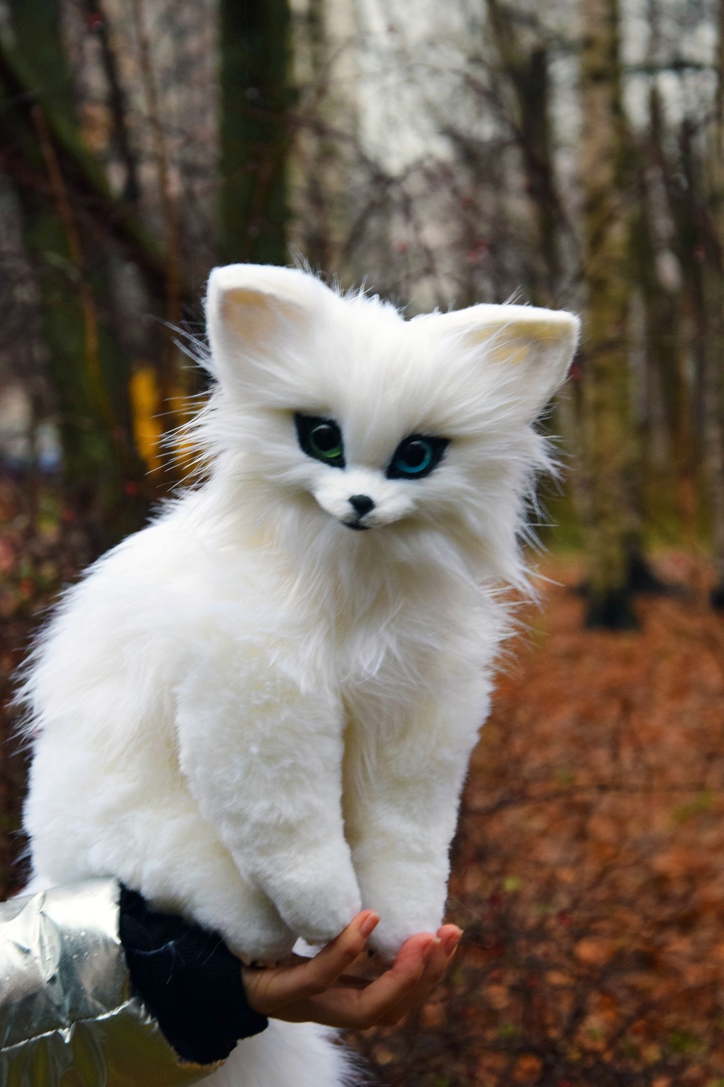 Arctic Fox, Whimsical Animals & Fantasy creatures from