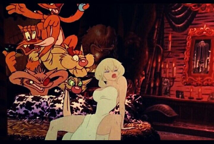 Holli Would If She Could Cool World 1992 Ralph Bakshi Anime Holly Would Art