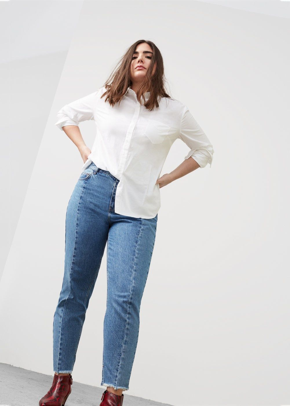7e75e031e Mom-fit desi jeans - Plus sizes in 2019   Grin and Wear It   Mom ...