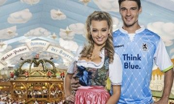TSV 1860 München has released the 2013 edition of its annual Oktoberfest kit from technical sponsor uhlsport. Description from footballfashion.org. I searched for this on bing.com/images