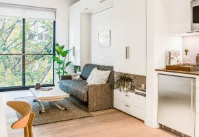 Inside a Chic New York Apartment (That's 360 Square Feet)