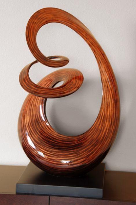 "free form modern art sculpture  Symphony""-Free Form Wood Sculpture, Stohans Showcase ..."