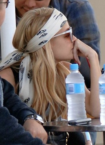 Head scarves.