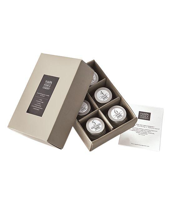 Gray Oak Candles - Set of Six