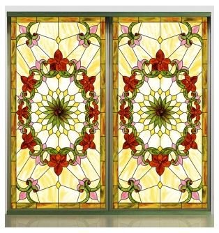 Stained Glass Removable Window Sticker Vinyl Sticker Http Www