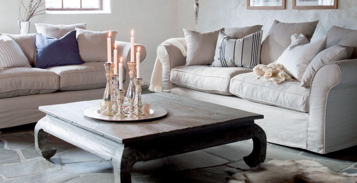Obura Hvit Sofa 9995 3seter « Livingno Home Pinterest