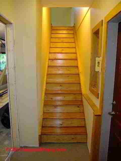 Stair Dimensions U0026 Clearances For Stair Construction U0026 Inspection