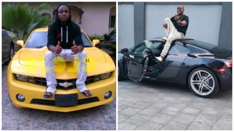 Olamide car vs Davido car | celebrities Nigeria and the world | Car