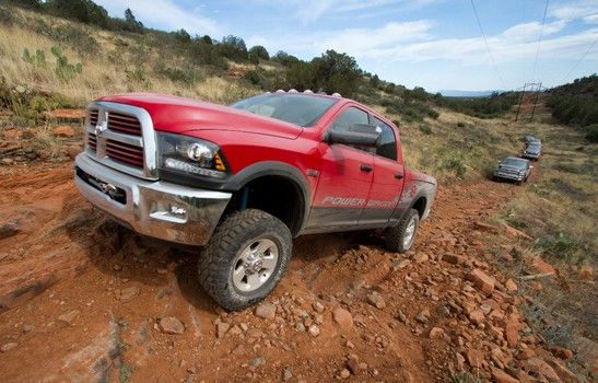 Ram Power Wagon 4x4 has 14.5-inches of ground clearance