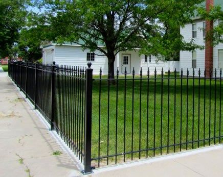 Unique Ideas For Yard Fencing Fencing Is Ideal For Front
