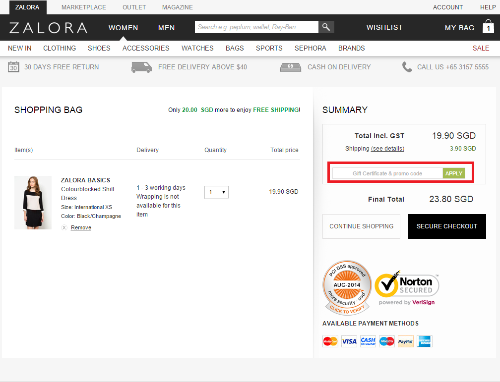 How To Use A Zalora Coupon Promo Codes Sephora Brands Coding