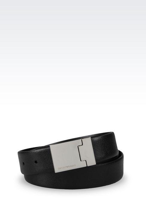 EMPORIO ARMANI|Belts