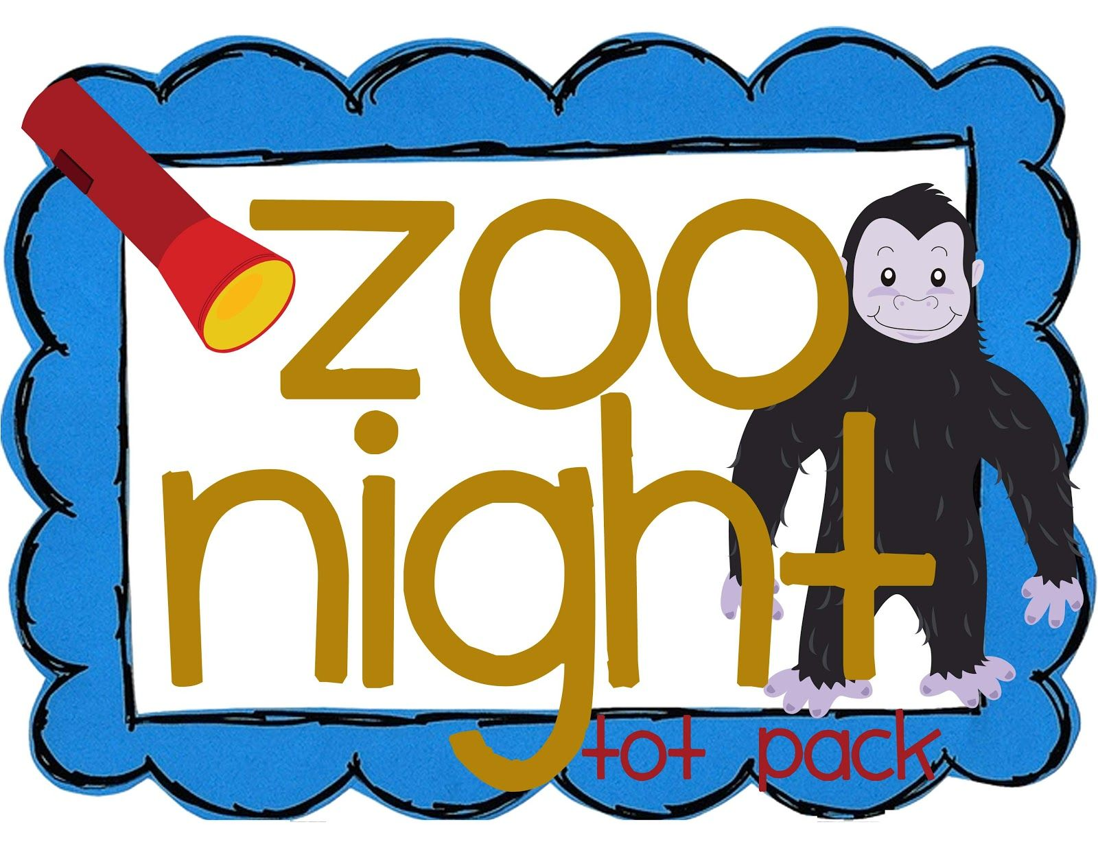 Zoo Night Tot Pack