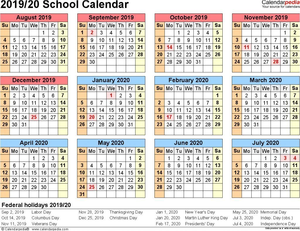 Yearly Calendar 2019 Template With Nsw Holidays School Calendars