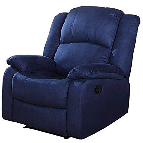 wall hugger recliner chair custom gaming for living room lounge relax padded contemporary microfiber full extension reclining mechanism lumbar support pillowtop