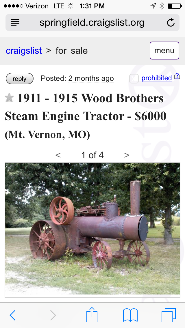Pin De Bruce Lessig Em Steam Traction Engines For Sale Trator