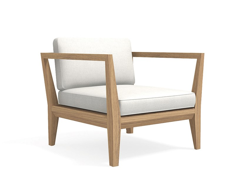 Teka Garden Armchair By Roda Italian Furniture Design Teak