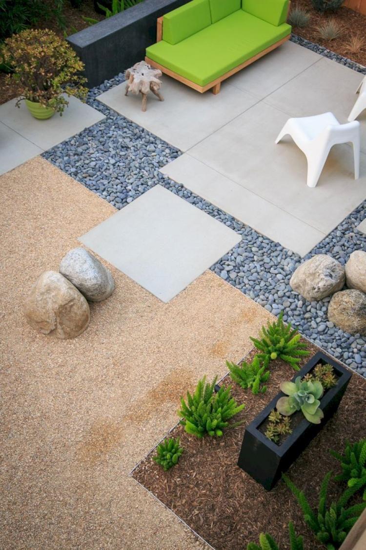 50 Minimalist Backyard Landscaping Ideas Front Yard Landscaping Design Modern Backyard Landscaping Front Yard Garden Design
