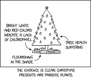 Christmas Presents Xkcd Com Christmas Presents Re Posted From Https Xkcd Com 2246 Tradewide Commercial Mattresses Christmas Presents Presents Christmas