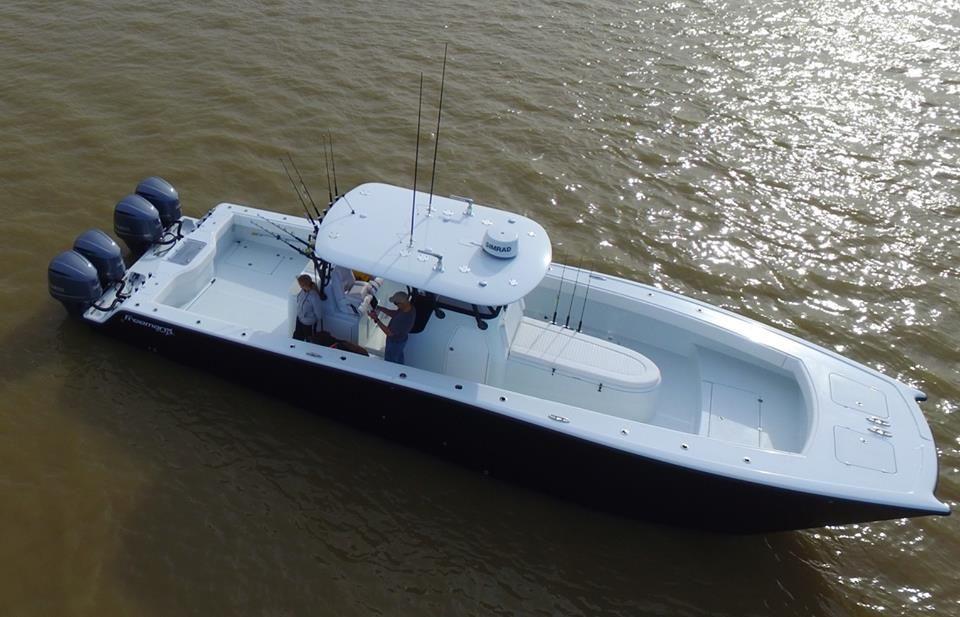 Super Strike Charters--Fishing and new 37 Freeman - The Hull