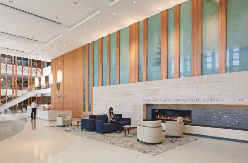 4 Hospital Lobbies Provide A Healthy Perspective Building Design Work Healthcare