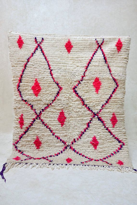 Moroccan Vintage Rug From Pink Co