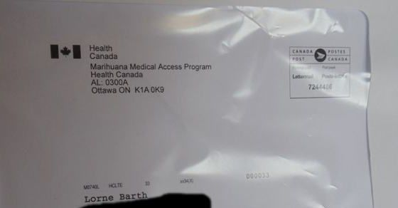 Medical Marijuana Gaffe: 3 Patients Fired, 1 Home Invasion | So far, Health Canada's less-than-discrete envelopes are responsible for at least 3 patients being fired and a home invasion, a lawyer claims.
