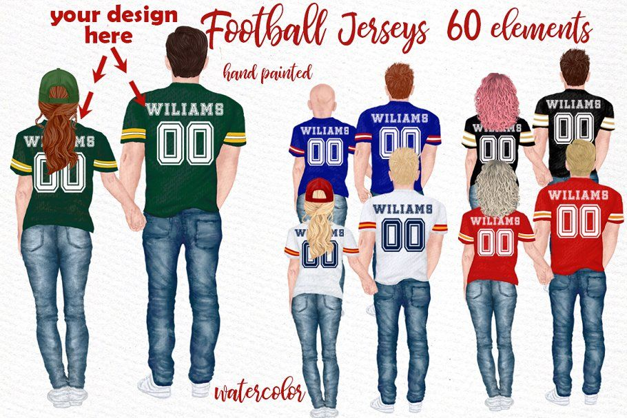 Jersey Clipart Couples Jersey In 2020 Clip Art Football Jerseys