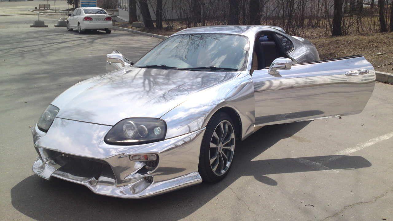 Toyota supra chrome wallpaper toyota chrome supra toyota http
