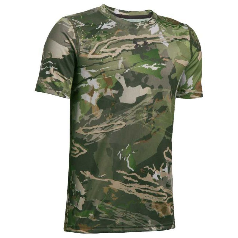 05e2510463f86 Under Armour Youth Scent Control Tech Short Sleeve Hunting Shirt ...