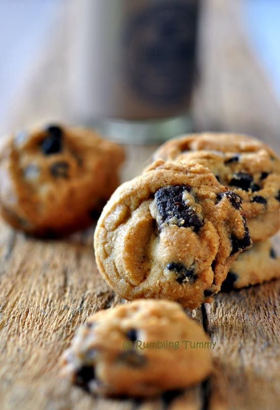 Rumbling Tummy Chocolate Chip Cookie Crunchy Crunchy