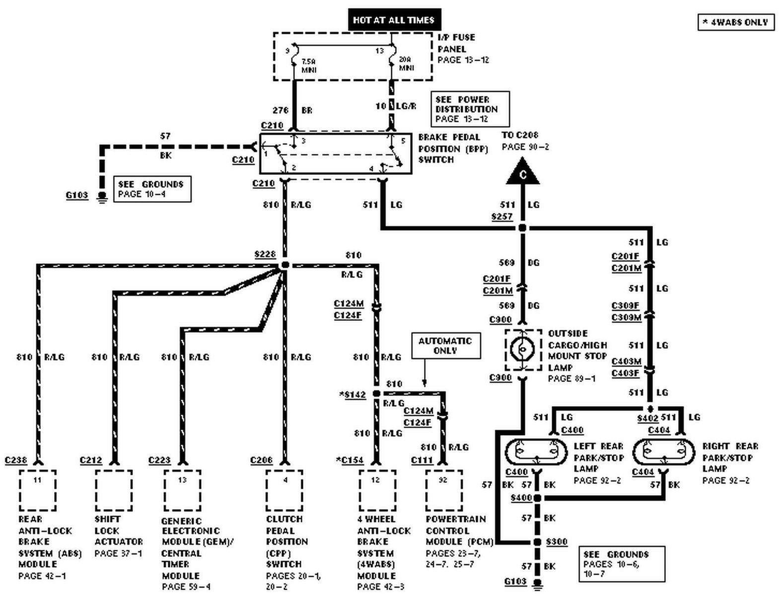 1998 Ford Ranger Wiring Diagram 3 Ford Ranger Ford Ranger