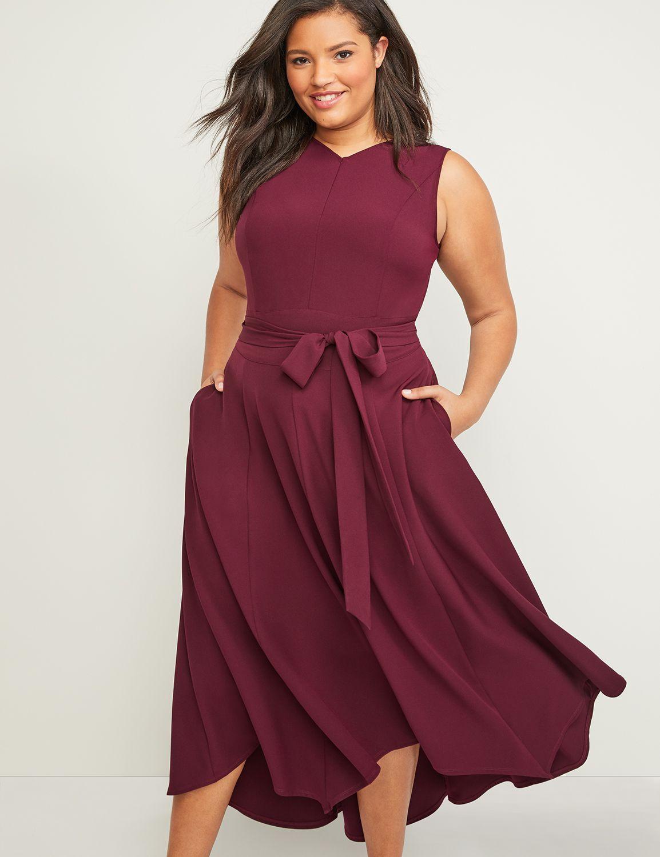 Sleeveless Lena Dress Lane Bryant Plus Size High Low Dresses Midi Short Sleeve Dress Casual Bridesmaid Dresses [ 1500 x 1154 Pixel ]