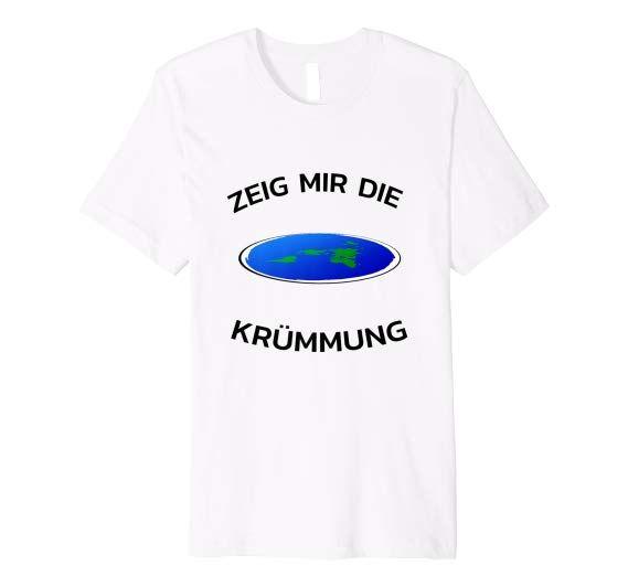 Zeig mir die Krümmung Die Erde ist Flach Shirt | Mens