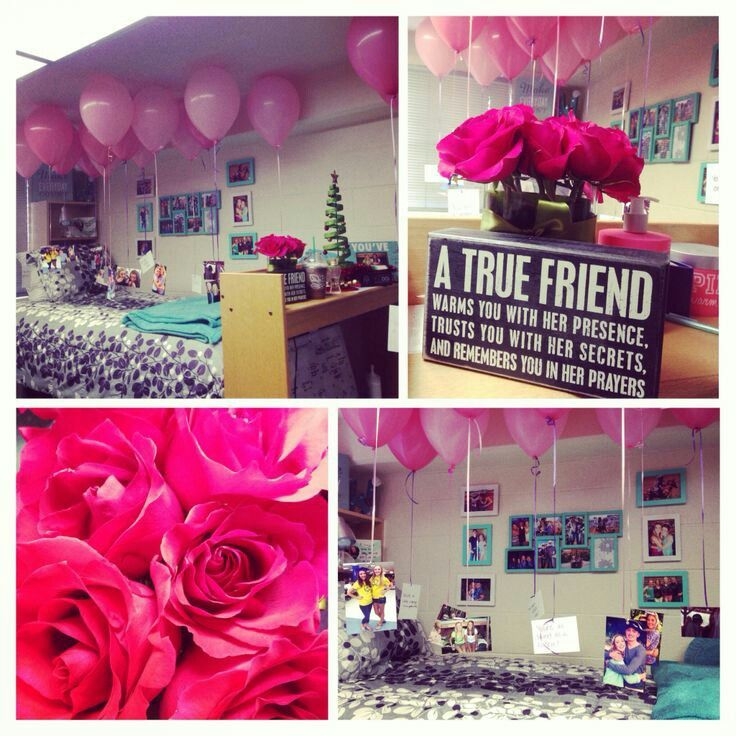 Birthday Room Surprise 21st Ideas For Best Friend Wishes