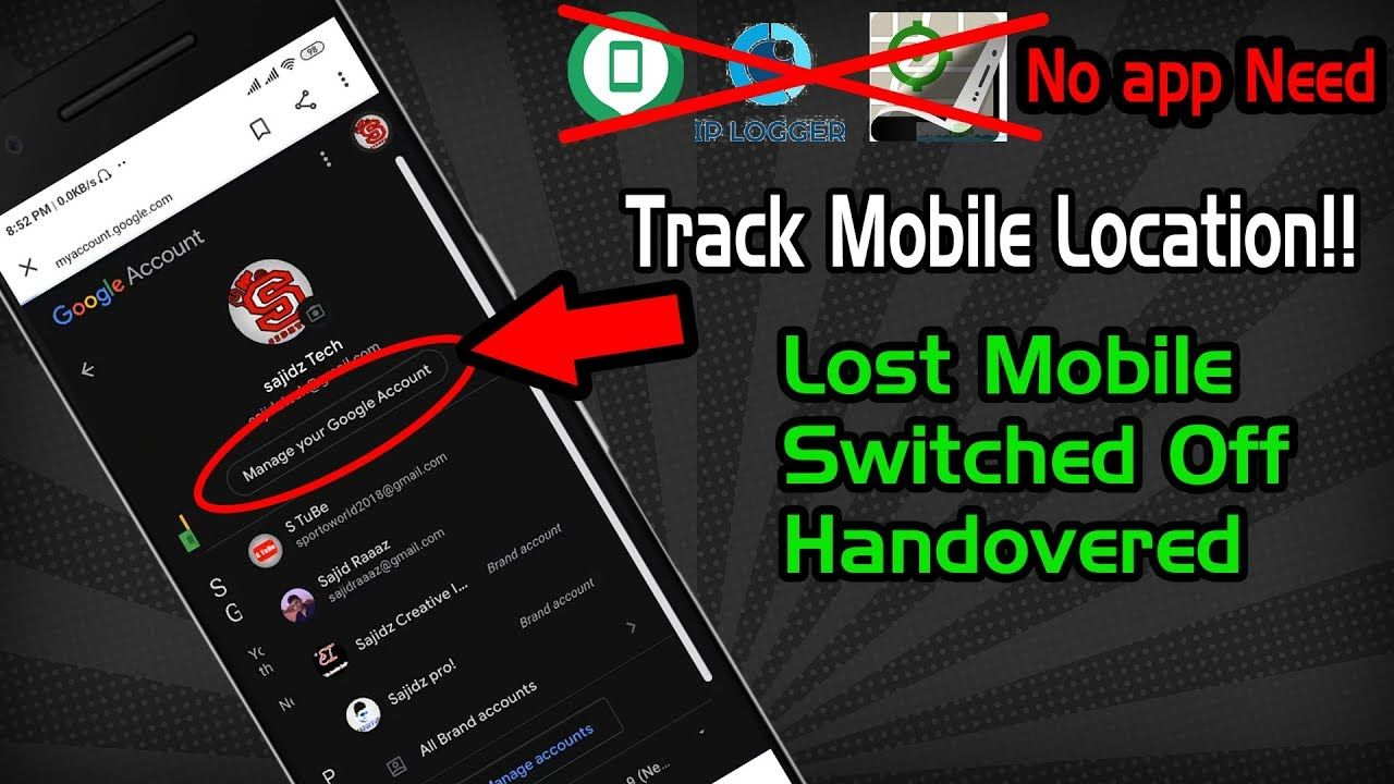 Mobile location trackerTrack Lost/Switched Off/Handover